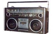 Radio portable muette