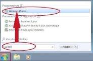 Activer ou désactiver les mises à jour sur windows 7 seven