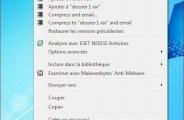 Cacher un fichier sur windows seven
