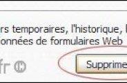 Effacer ses traces de navigation sur Internet Explorer 7