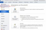 Enregistrer un document Word au format PDF sous Word 2010