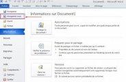 Enregistrer un document Word au format PDF sous Word 2010