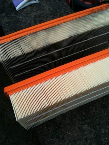Changement du filtre a air audi a3 8p tdi 6