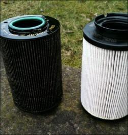 Changement filtre gasoil audi a3 tdi 1