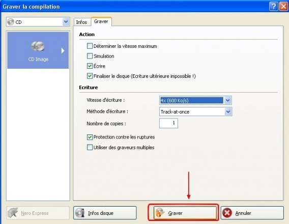 Graver un CD DVD a partir d une image ISO avec Nero 3