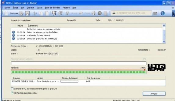 Graver un CD DVD a partir d une image ISO avec Nero 4