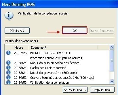 Graver un CD DVD a partir d une image ISO avec Nero 5