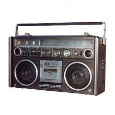 Radio portable muette 0