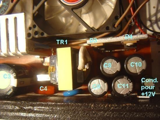 Realisation d alimentation a decoupage d ampli 600W 7