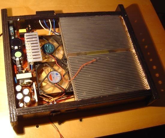 Realisation d alimentation a decoupage d ampli 600W 8