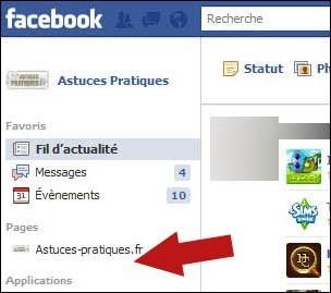 Supprimer une page fan sur facebook 5