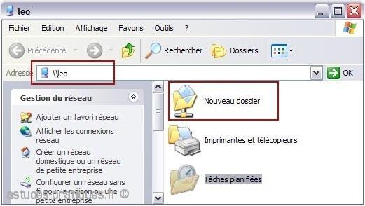 acceder aux ressources reseau avec windows 3
