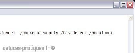accelerer le demarrage de xp en desactivant le logo 2