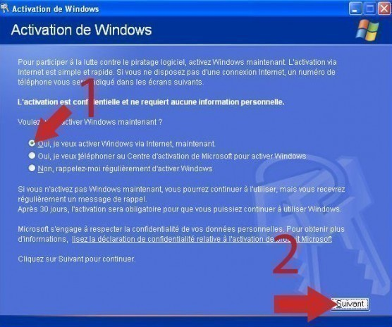 activation windows xp 2