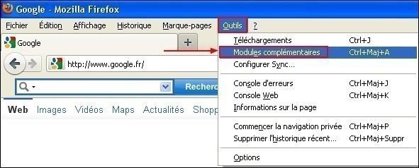 Activer et désactiver les barres d'outils dans Firefox 5