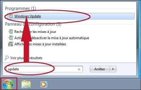 activer ou desactiver les mises a jour sur windows 7 seven 0