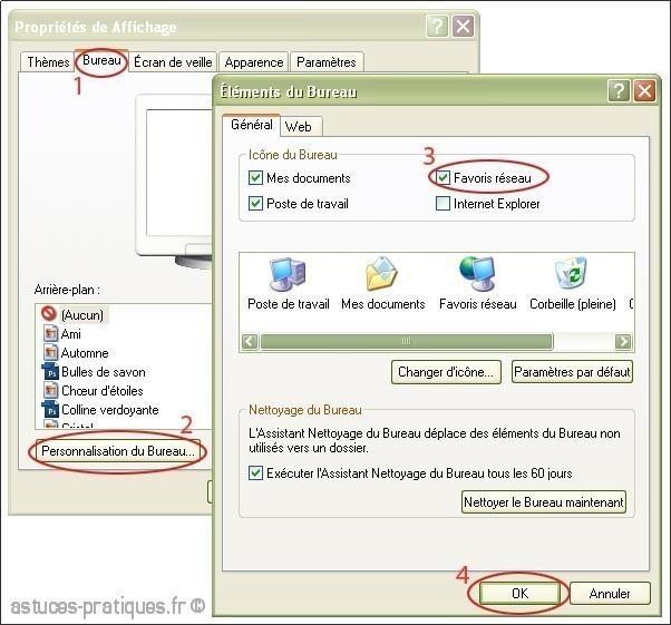 activer ou desactiver une connexion reseau sur xp 0