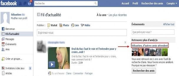 afficher la liste d amis potentiel sur facebook 0