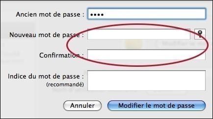 ajouter ou supprimer un mot de passe sur mac osx 4