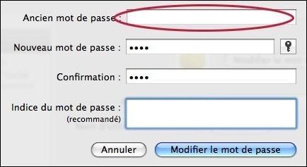ajouter ou supprimer un mot de passe sur mac osx 3