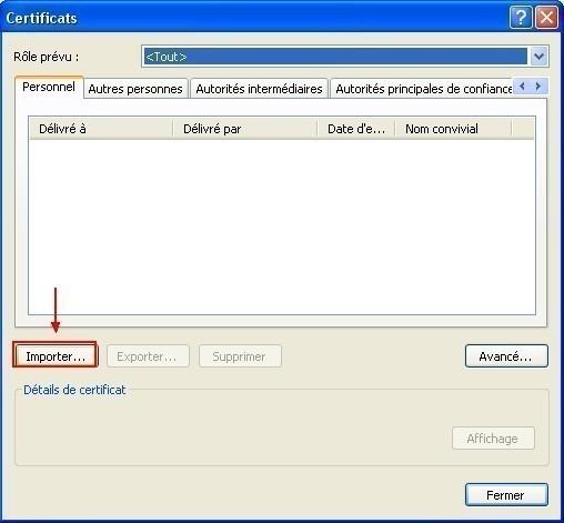 ajouter un certificat sous internet explorer 8 0 2