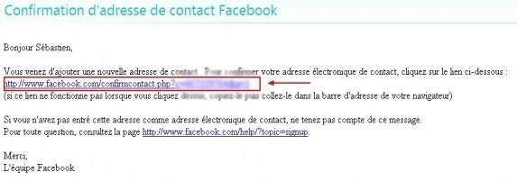 ajouter une adresse email sur facebook 5