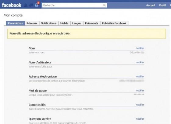 ajouter une adresse email sur facebook 6
