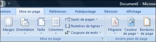 ajouter une bordure de page une bordure ou une trame de fond sur office 2007 0