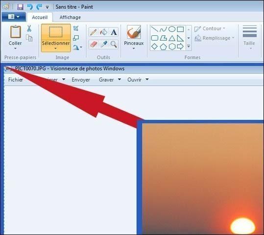 alleger les photos sans logiciel particulier sur windows 2