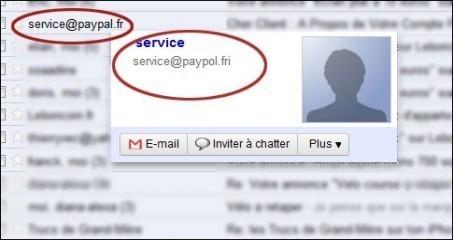 arnaque paypal par email 0