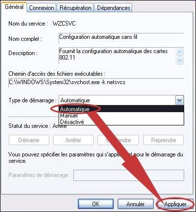 aucun reseau sans fil wifi detecte sur xp 3
