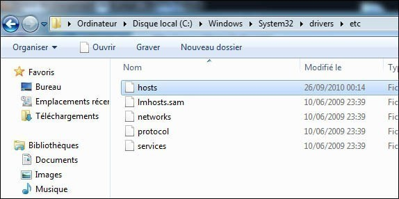 Bloquer des sites web sans logiciels