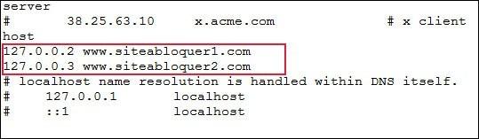 bloquer des sites web sans logiciels 1