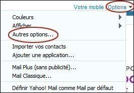 Bloquer un expéditeur sur Yahoo Mail