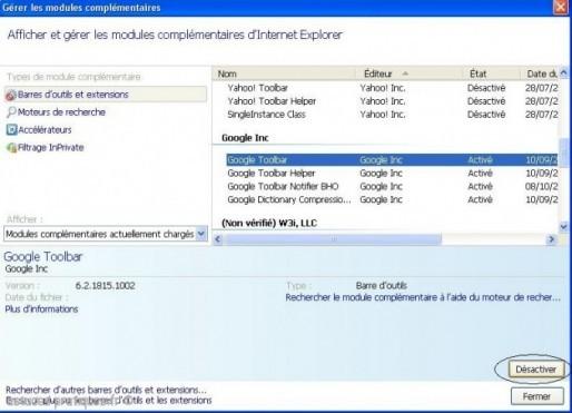 bug internet explorer 8 0 partie blanche 3