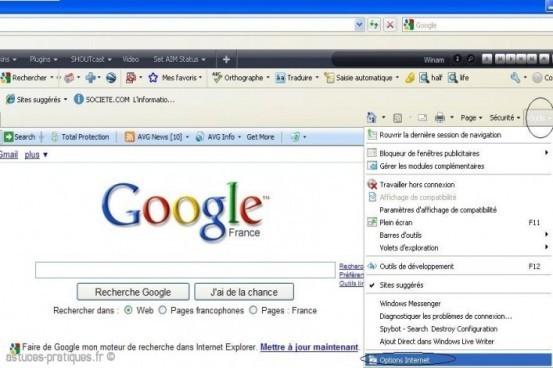 bug internet explorer 8 0 partie blanche 1