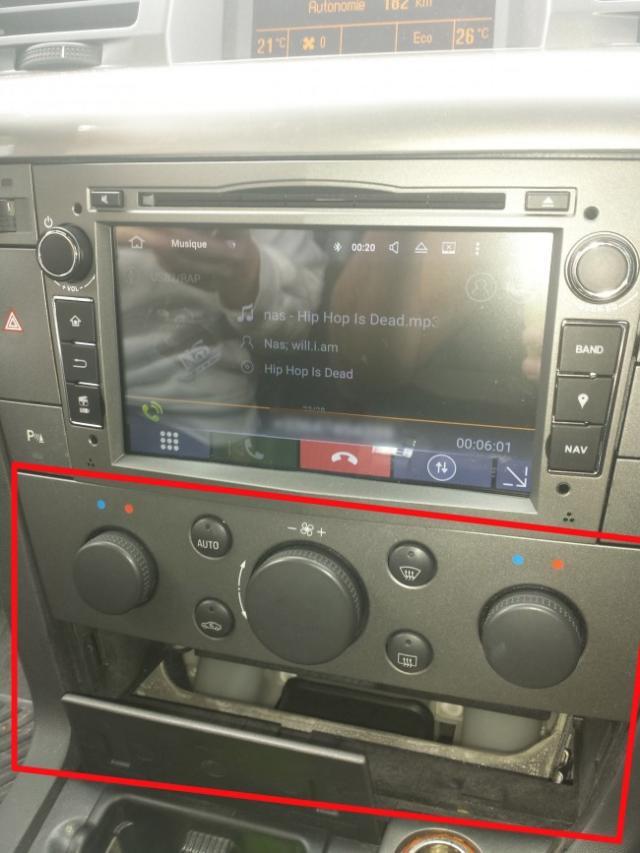 changer autoradio origine vectra c 9