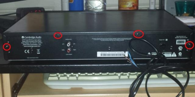 changer cable secteur ampli ou platine 3