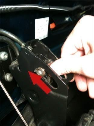 changer le cable de verrouillage du toit de 206 cc 12