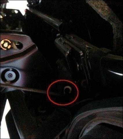 changer le cable de verrouillage du toit de 206 cc 5
