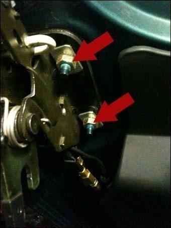changer le cable de verrouillage du toit de 206 cc 10