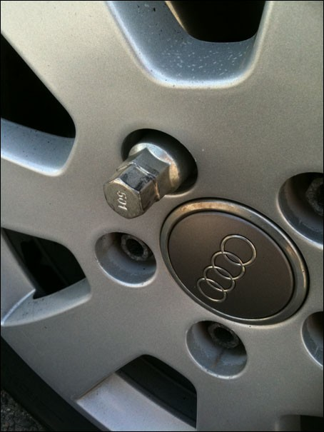 changer une roue 4
