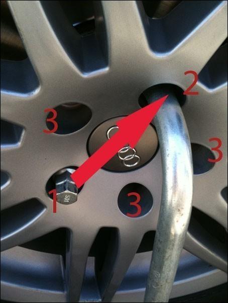 changer une roue 8