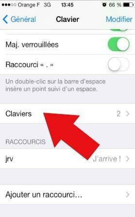 comment activer les emoticones sur iphone ios7 4