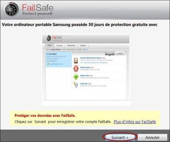 comment desinstaller failsafe 1