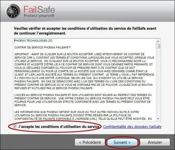 comment desinstaller failsafe 2