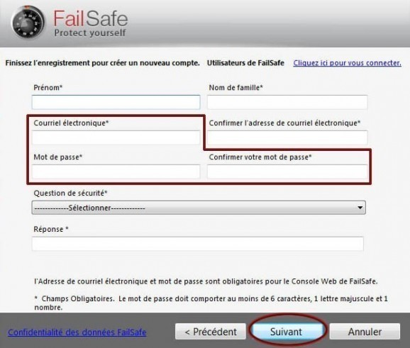 comment desinstaller failsafe 3