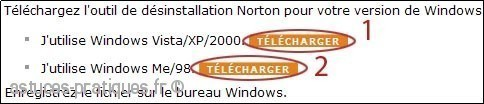 comment desinstaller norton 0