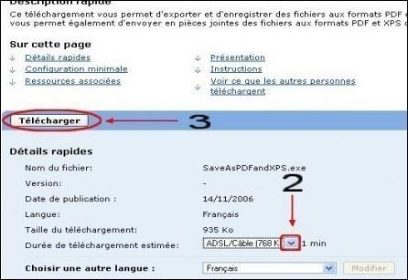 COMPLÉMENT DEXPORTATION PDF TÉLÉCHARGER ET XPS MICROSOFT