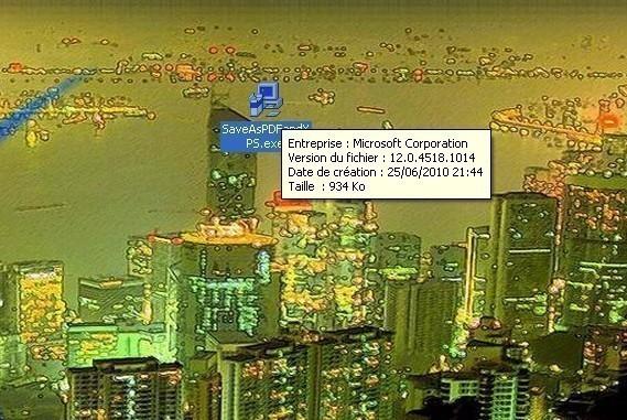 complement microsoft pdf et xps pour office 2007 5
